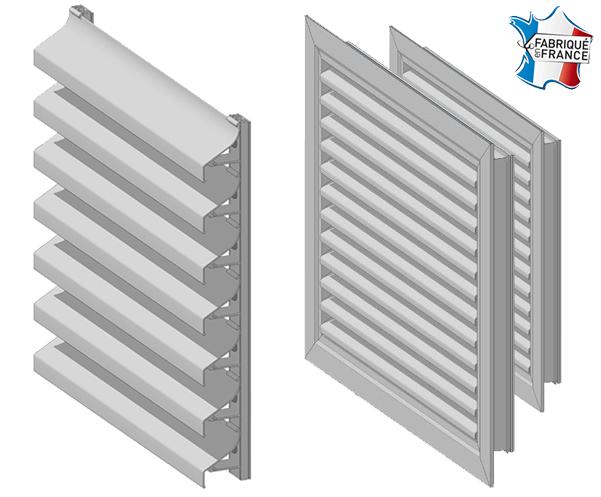 fabricant de grilles de ventilation et de grilles d 39 habillage en aluminium st priest 69800. Black Bedroom Furniture Sets. Home Design Ideas